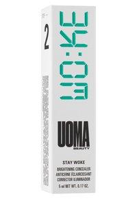 UOMA - STAY WOKE CONCEALER - Concealer - t2 black pearl - 2