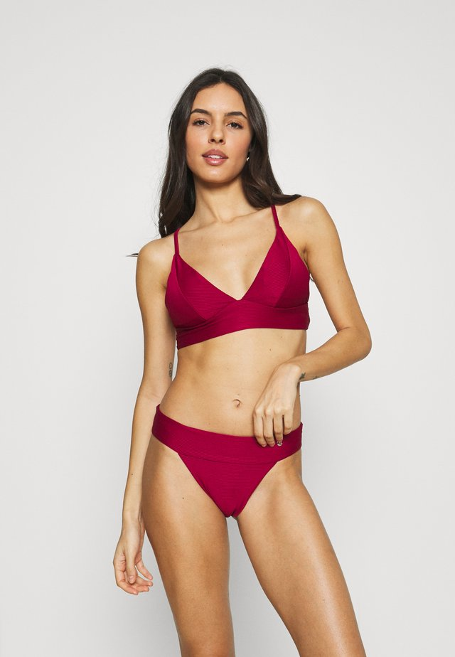 ONLBOBBY LIFE SET - Bikini - beet red