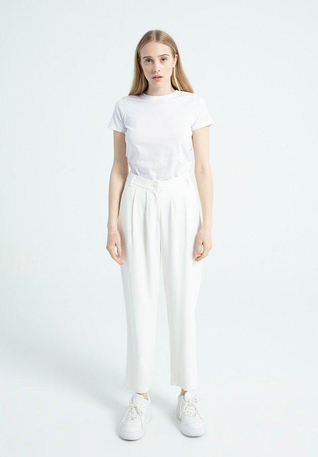 Trousers - beyaz