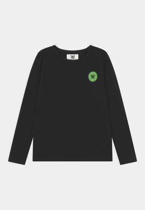 KIM LONG SLEEVE UNISEX - Pitkähihainen paita - black