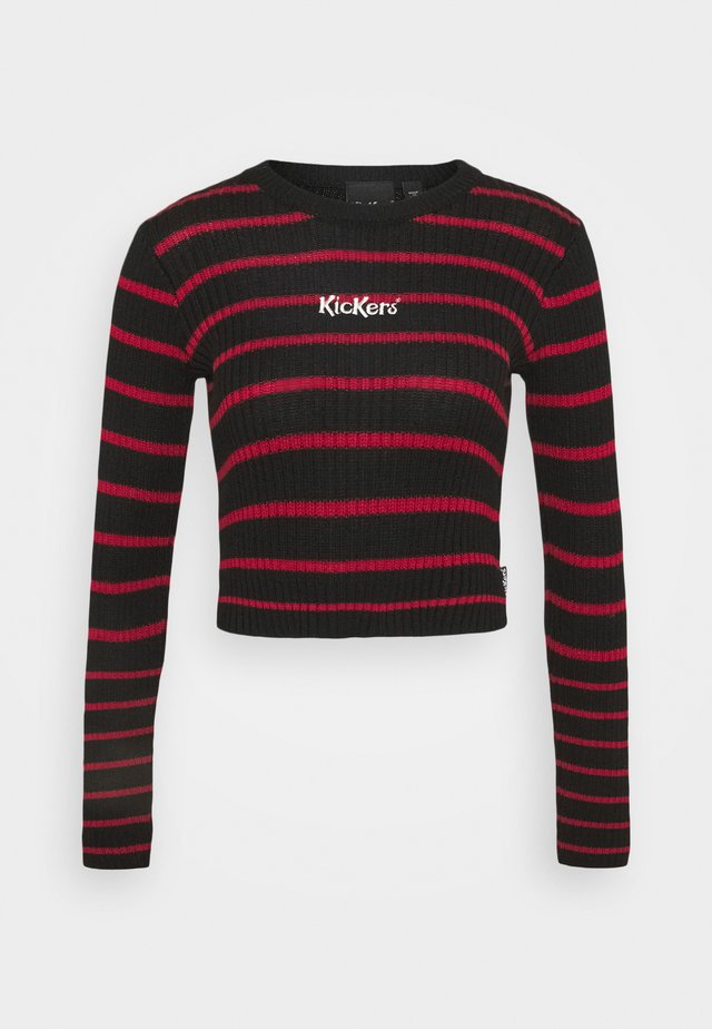 Jumper - red/black