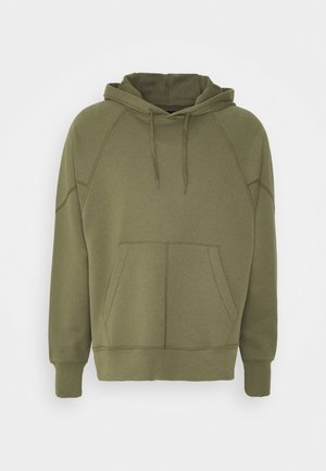 SHAPES TRIANGLE HOODIE UNISEX - Bluza z kapturem - field surplus