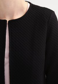 Vila - VINAJA NEW LONG - Chaqueta de punto - black - 3