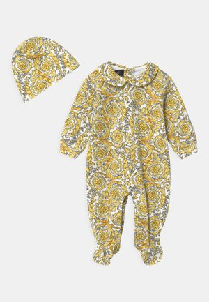 BAROQUE PRINT GIFT SET UNISEX - Sleep suit - white/gold