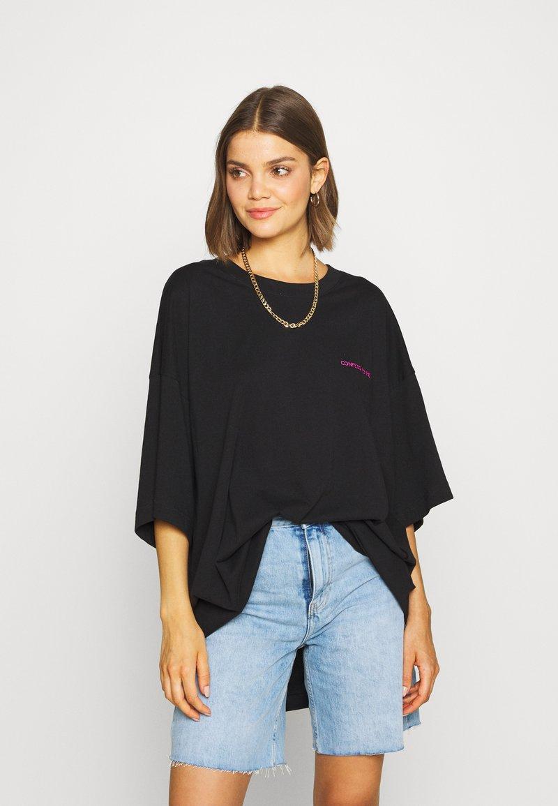 Weekday - HUGE DRESS - Jerseykjole - black