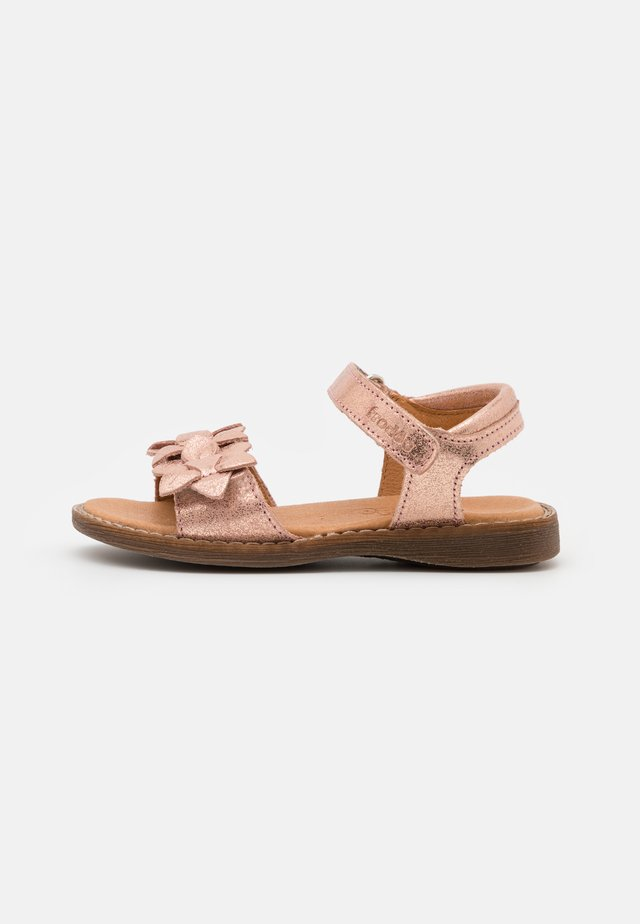LORE FLOWERS - Sandals - pink