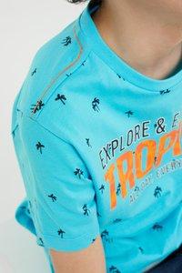 WE Fashion - Print T-shirt - orange - 3