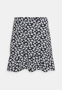 EDITED - AURORA SKIRT - Mini skirt - dark blue/white - 3