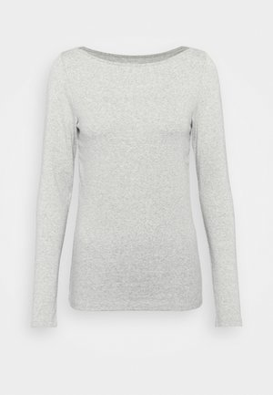BATEAU - Top sdlouhým rukávem - heather grey