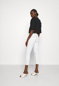 Mos Mosh - VALERINE PANT - Trousers - white - 2