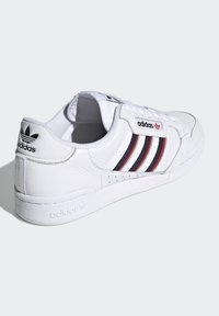 adidas Originals - CONTINENTAL 80 STRIPES UNISEX - Tenisky - footwear white/collegiate navy/vivid red - 3