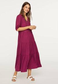 OYSHO - Day dress - dark purple - 0