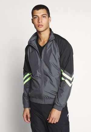 BLOCK SPORT TRACK JACKET - Summer jacket - darkshadow