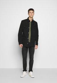 Barbour International - COLOURED DUKE CASUAL - Summer jacket - black - 1