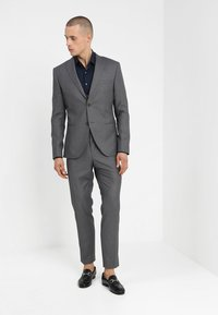 Isaac Dewhirst - FASHION SUIT - Kostuum - mid grey - 1