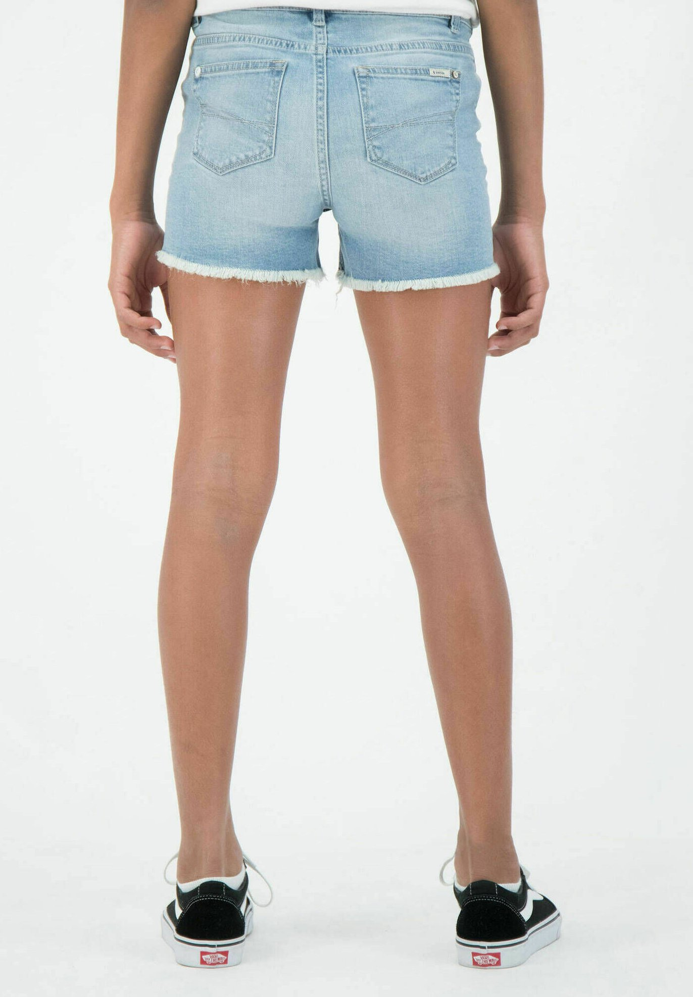 Kinder RIANNA - Jeans Shorts - stoned blue