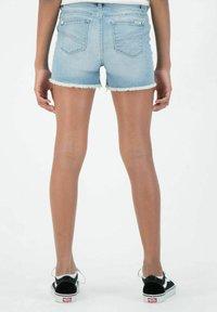 Garcia - RIANNA - Denim shorts - stoned blue - 1