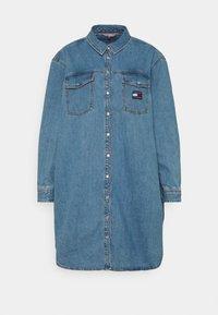 Tommy Jeans Curve - SHIRT DRESS - Denim dress - denim medium - 3