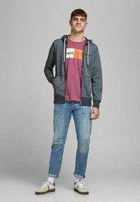 Jack & Jones - Sweater met rits - navy blazer - 1