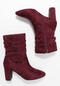 Bullboxer - Classic ankle boots - wine - 3