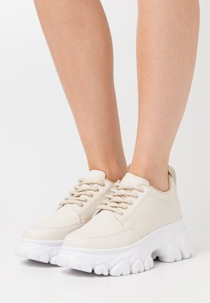 CHEW ON YOUR  - Sneakers basse - beige