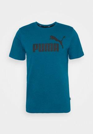 LOGO TEE - T-shirts print - blue