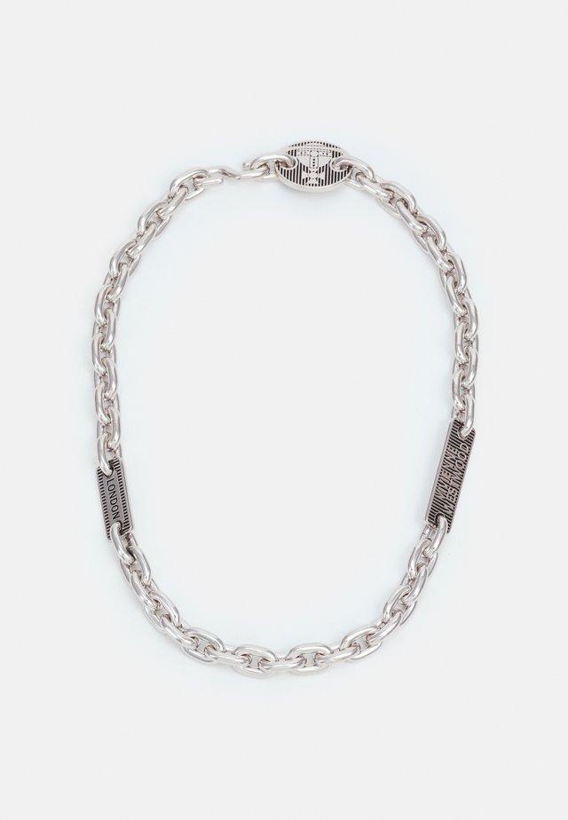 ZEPHYR NECKLACE UNISEX - Náhrdelník - silver-coloured