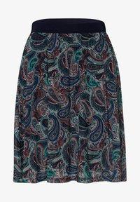 zero - A-line skirt - desert night blue - 4