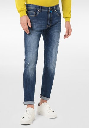 LYON - Jeans Tapered Fit - mid blue used