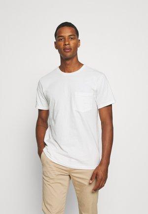BASIC TEE - Basic T-shirt - off white