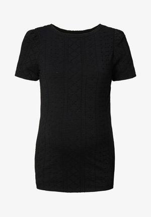 EDNA  - T-shirt imprimé - black