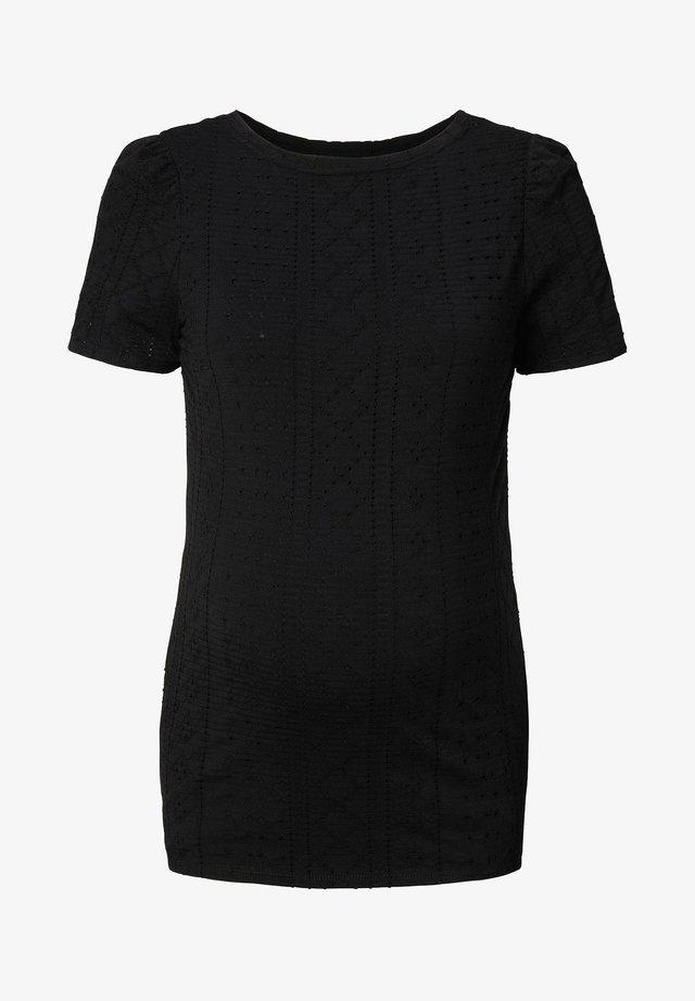 EDNA  - T-shirt print - black