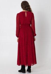 Indiska - VARJA - Maxi šaty - red - 2