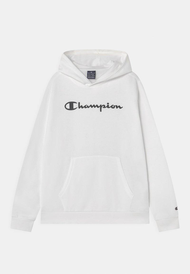 Champion - AMERICAN CLASSICS HOODED UNISEX - Felpa con cappuccio - white