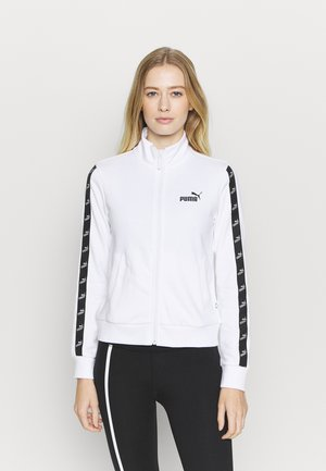 AMPLIFIED TRACK JACKET - Trainingsjacke - white