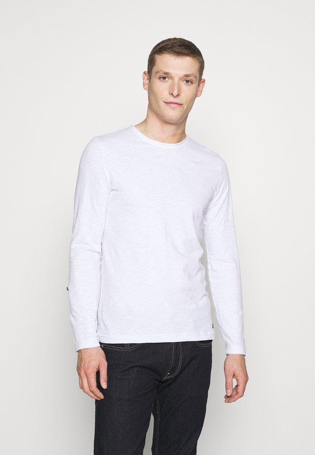ANTON  - Camiseta de manga larga - white