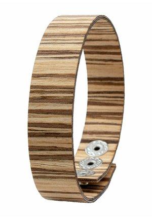 LAIMER WICKEL-ARMBAND AUS ZEBRANOHOLZ - S1114 - Bracelet - beige