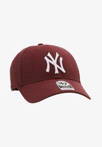 '47 - NEW YORK YANKEES UNISEX - Cap - dark maroon - 5
