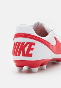 Nike Performance - PREMIER II FG - Moulded stud football boots - white/university red - 5