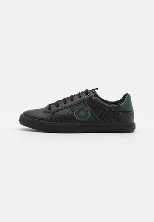 Tenisky - black/dark green