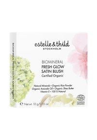 Estelle & Thild - BIOMINERAL FRESH GLOW SATIN BLUSH 10G - Blusher - nude sienna - 1