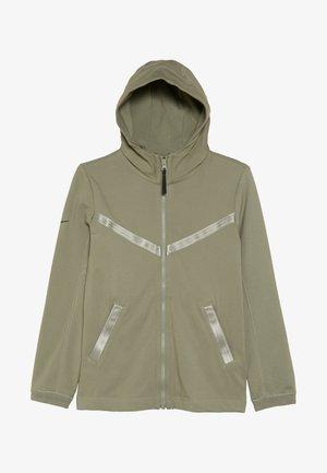 TECH PACK HOODIE - Zip-up hoodie - jade stone