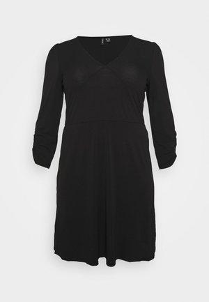 VMALBERTA VNECK DRESS - Trikoomekko - black