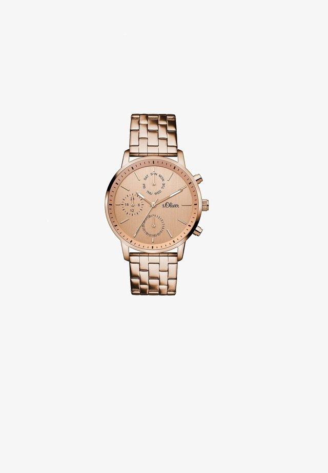Chronograph watch - rosé
