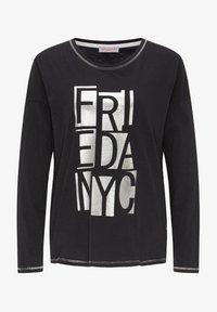 Frieda & Freddies - Long sleeved top - black - 0