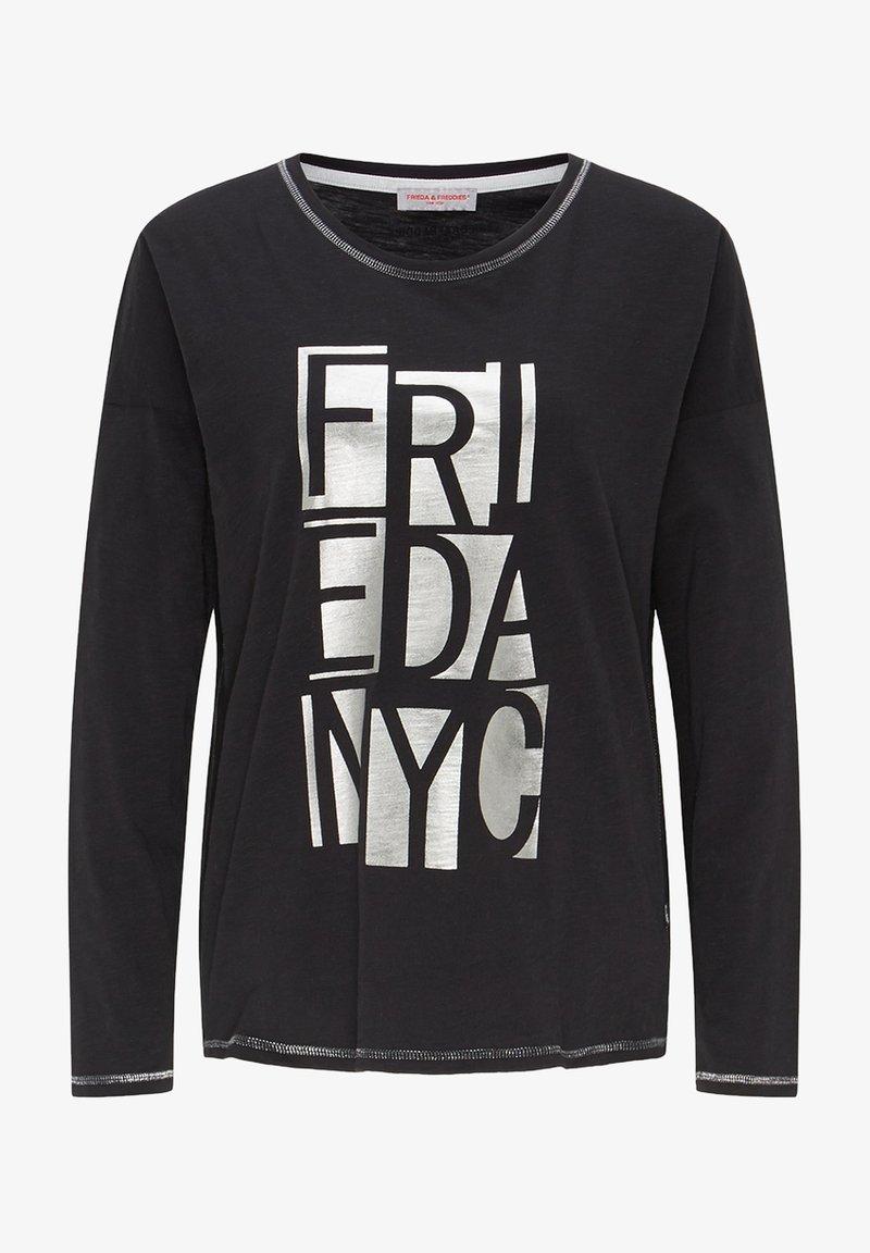 Frieda & Freddies - Long sleeved top - black