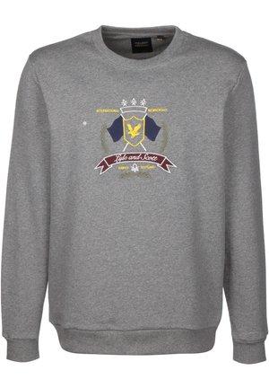 CREST - Sweatshirt - mid grey marl