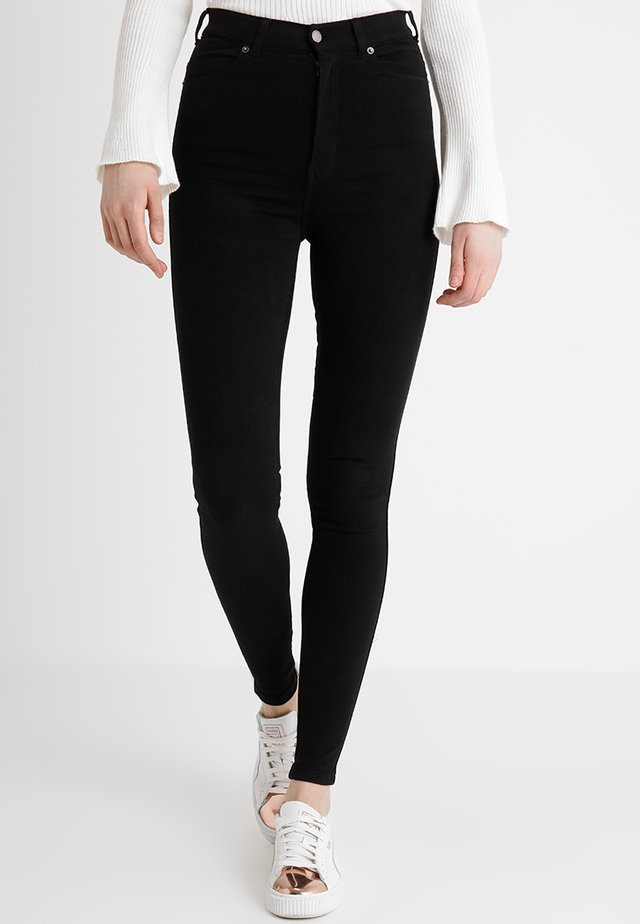MOXY HIGH WAIST - Jeans Skinny - black