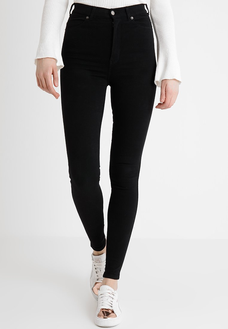 Dr.Denim Tall - MOXY HIGH WAIST - Skinny-Farkut - black