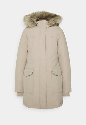 TECHNICAL  - Down coat - beige